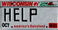 Help license plate
