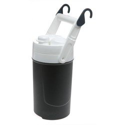 Igloo 1/2 Gallon Sport Midnight Black Plastic Thermos Water Ice Cooler Jug
