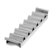 ChefGiant Hot Dog Make Up Tray 7 Slot, Stainless Steel (Hot Dog Stainless Tray compare prices)