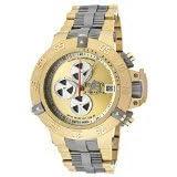 Invicta Men's 11644 Subaqua Noma III Automatic Chrono Gold Tone Watch (Color: gold)