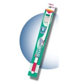 Butler G-U-M Super Tip Soft Compact Head Toothbrush - 1 ea (colors vary)