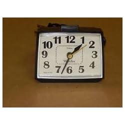 Vintage Westclox Dialite Alarm Clock - Black