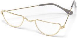 Half Moon Granny Spectacle Glasses