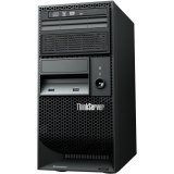 Lenovo ThinkServer TS140 70A4001RUS 5U Tower Server (3.2 GHz Intel Xeon E3-1225 v3 Processor, 4 GB ECC RAM, 2 x 500 GB HDDs, DVD-ROM, Windows Server 2012 Essentials) Black