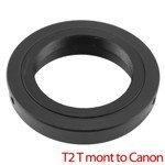 T2 T Mount Lens To Canon Ef 60D 500D 7D 50D 1000D Adapter