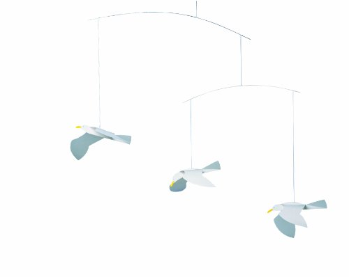 Flensted Mobiles Nursery Mobiles, Soaring Seagulls