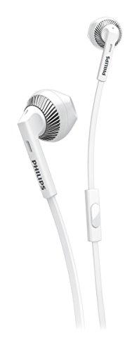 Philips SHE3205WT/00 Cuffie Auricolari con Microfono, Bianco