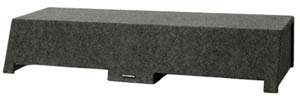 "R/T 36"" Wide - Low Profile Suv Sealed Speaker Box - Dual 10"""