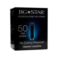 Bgstar Mystar Extra Strisce Reattive per il Controllo della Glicemia, 50 Pezzi