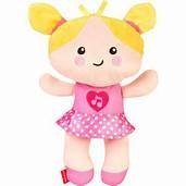 FISHER PRICE SOFT BABY DOLL - MY FIRST SILLY AND SWEET BABY DOLL - 1