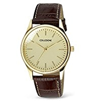Collezione Round Face Analogue Classic Watch