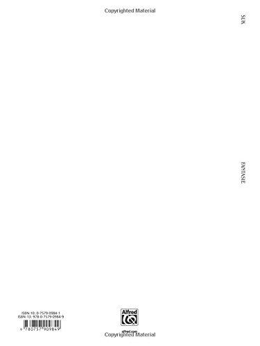 Fantasie, Op. 24 (Urtext) (Kalmus Edition)
