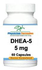 4 bouteilles de suppléments de DHEA