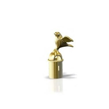 Alessi 9093 Kettle Bird Replacement Whistle, Gold (Replacement Whistle compare prices)