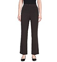 M&S Collection 2-Way Stretch Slim Leg Zipped Trousers