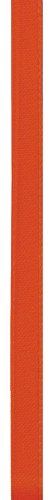 Offray Single Face Satin Craft Ribbon, 1/4-Inch by 100-Yard Spool, Autumn Orange