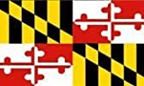 Maryland 3'x5' Polyester Flag