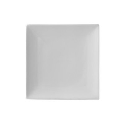 """Whittier Coupe Square 8"""" Plate [Set Of 6]"""