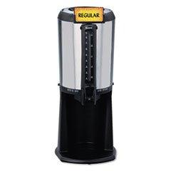 hormel-410225-thermal-beverage-dispenser-gravity-25-liter-stainless-steel-black