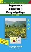 Wanderkarten Tegernsee Schliersee Mangfallgebirge Freytag