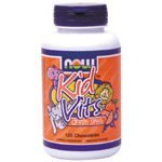 Now Foods Kid Vitamins, Orange Splash, 120-Count