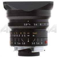 Leica 18Mm F/3.8 Super-Elmar-M Aspherical Black Super Wide Angle Manual Focus Lens For M System - Demo In Brand New Condition With 1 Year Warrenty