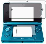 6 x Clear LCD Screen Protectors for Nintendo 3D (3 x for each display) - Anti-Scratch Guard / Display Savers