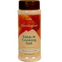 Aloha Bay Himalayan Salt Table And Cooking Salt, Fine 6 Count