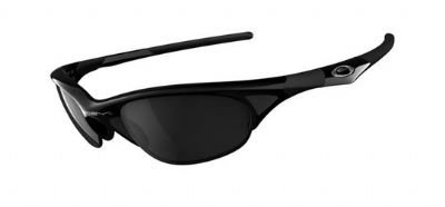 Clearance Oakley Half Jacket Jet Black/blackiridium (03-614) Sunglasse