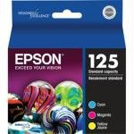 Epson DURABrite T125520 Ultra 125 Standard-capacity Inkjet Cartridge Color Multipack -1 Cyan/1 Magenta/1 Yellow