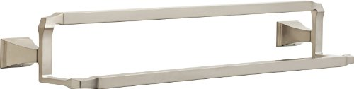 Delta Faucet 75125-SS Dryden 24inch Double Towel Bar Rack, Brilliance Stainless Steel (Delta Towel Bar Stainless Steel compare prices)