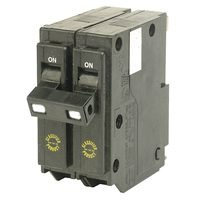 Double Pole Circuit Breaker, 30 Amps front-466399