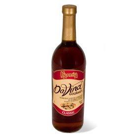 Da Vinci Kahlua Sugar Free Syrup (750ml Plastic Bottle)