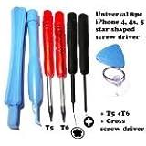 Generic GEN10219 Cross Opener Screwdriver Tool Kit, 8-Piece