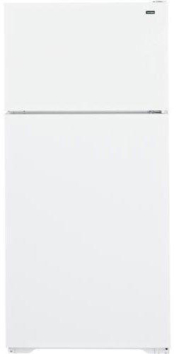Hotpoint HTN16BBEWW 15.6 Cu. Ft. Whtie Top Freezer Refrigerator