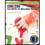 Current K-12 Education Theories (Pearson Custom Education: EDU 790 Current K-12 Education Theories)
