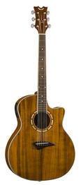 Dean Exotica Koa Acoustic-Electric Guitar - Natural