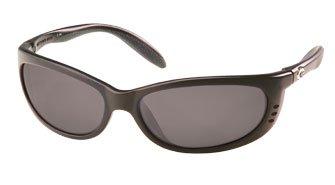 Costa Del Mar - Fathom Polarized Sunglasses Black Frame/580P Gray Lens