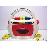 Playskool Cassette Tape Player & Recorder with 2 Microphones