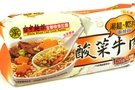 Whole Wheat Instant Noodle (Steam Beef Flavor) - 14oz (Pack of 1)