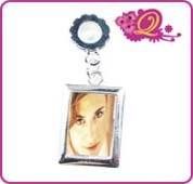 Quiges Fashion Jewels Silver Plated Charms Picturehanger