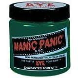 Manic Panic Semi Permanent Hair Dye Enchanted Forest Green