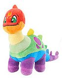 Neopets Collector Species Series 4 Plush with Keyquest Code Rainbow Chomby
