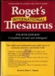 The Concise Roget's International Thesaurus (Collins Reference Library) (0060851724) by Barbara Ann Kipfer