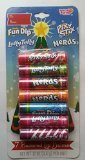 Fun Dip, Laffy Tafy, Pixy Stix, and Nerds, 7 Flavored Lip Balms - .12 Oz Per Chapstick