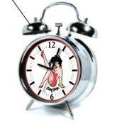 Betty Boop Leg Kick Retro Alarm Clock