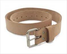 """Gfeller Leather Belt - 1.5"""" wide BB 1 1/2"""