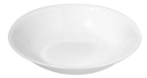 Corelle Livingware 20-Ounce Salad/Pasta Bowl, Winter Frost White (6)