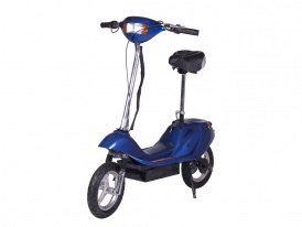 X-Treme Electric X-370 Battery Powered Electric Scooter (Blue)