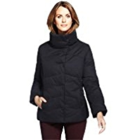 M&S Collection Funnel Neck Padded Jacket with Stormwear™